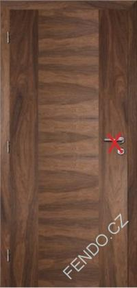 Interiérové dveře dýha