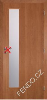 Interiérové dveře olše